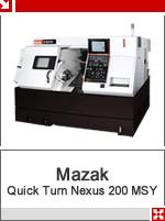 mazak quick turn nexus 200 msy