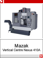 mazak verticle centre nexus 410 a