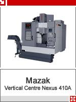 mazak verticle centre nexus 410 a